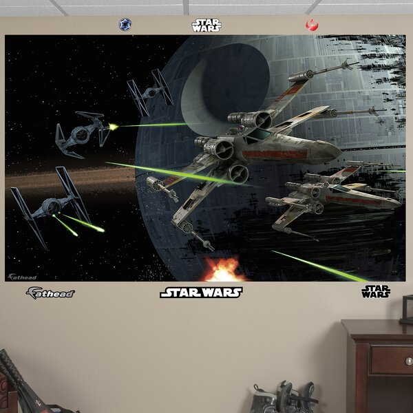 Star Wars Space Battle Wall Mural by Fathead