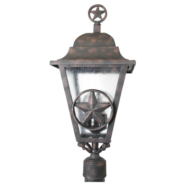 Penfield Lone Star Series 3 Light 27 Post Lantern by Alcott Hill