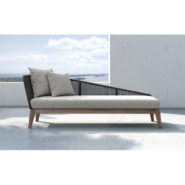 Ehlers Patio Sofa with Cushion by Highland Dunes Highland Dunes