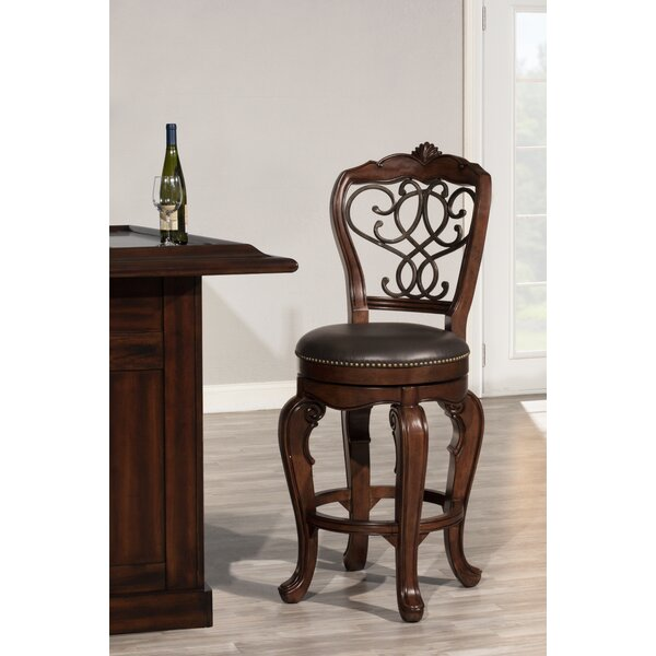 Encarnacion Bar & Counter Swivel Stool by Astoria Grand