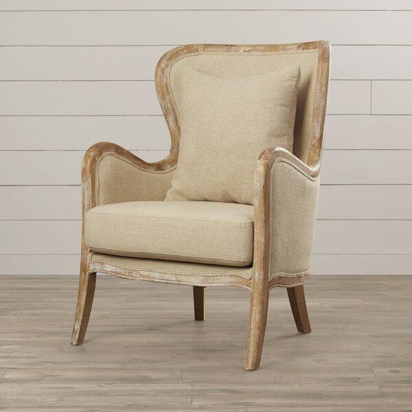 Gazon 24.75-inch Wingback Chair by Lark Manor Lark Manor