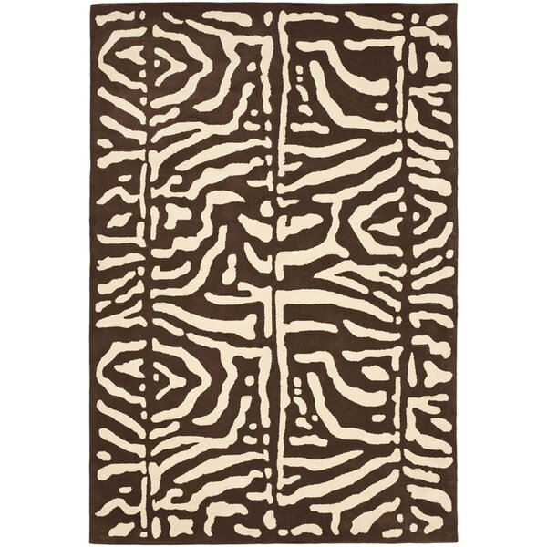 Alden Hand-Tufted Wool Safari Teak Area Rug by Lauren Ralph Lauren