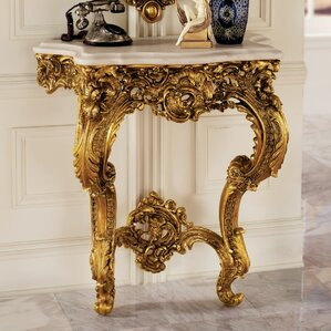 Madame Antoinette Wall Console Table by Desi..