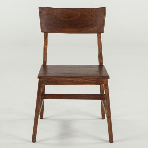 Allison Solid Wood Dining Chair (Set of 2) by Union Rustic