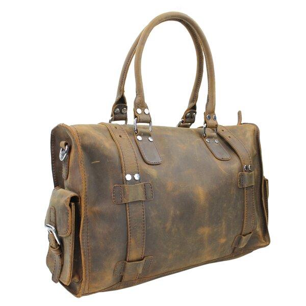 18 Leather Travel Duffel by Vagabond Traveler