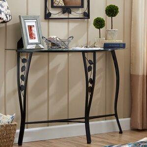 fletcher console table u0026 mirror set