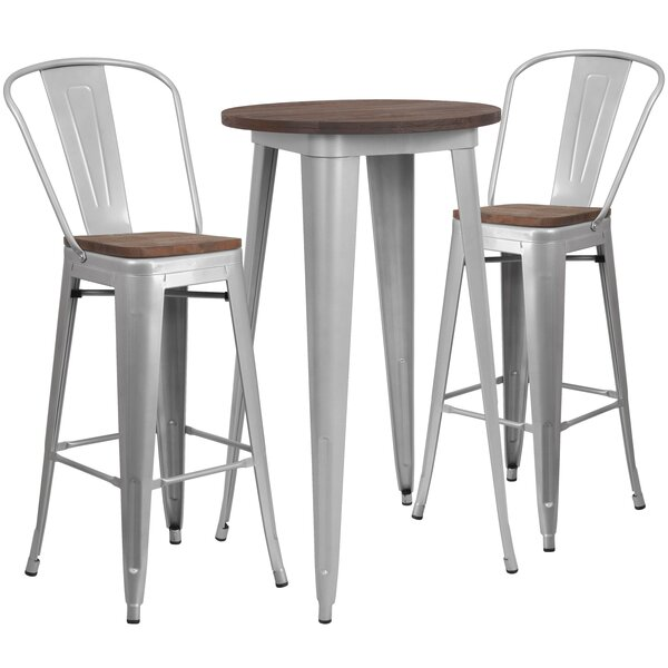 Priddy 3 Piece Dining Set By Williston Forge