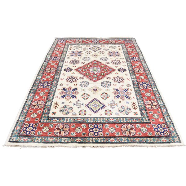 One-of-a-Kind Tillman Special Hand-Knotted Ivory Area Rug by Millwood Pines