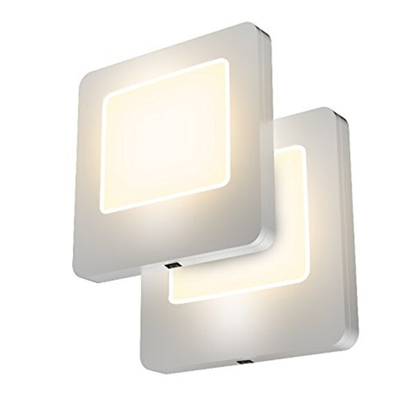LED Night Light with Dusk to Dawn Sensor (Set of 2) by GGI International