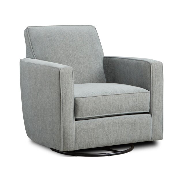 Stockwith Swivel Armchair by Ebern Designs Ebern Designs