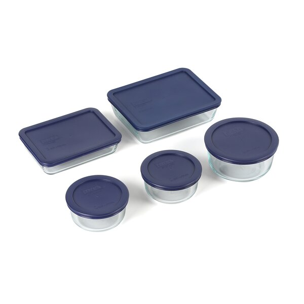 Storage Plus 10 Piece Bakeware Set by Pyrex