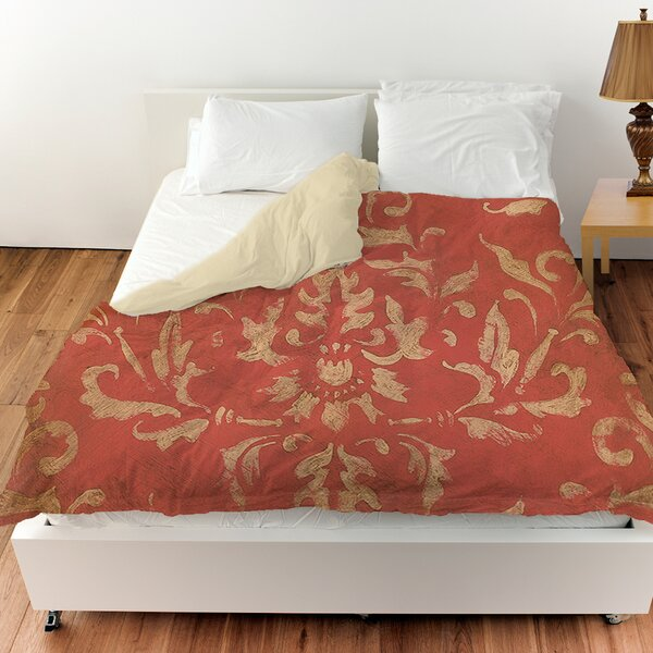 Golden Baroque Duvet Cover by Manual Woodworkers & Weavers