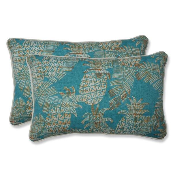 Emeline Indoor/Outdoor Batik Lumbar Pillow (Set of 2)