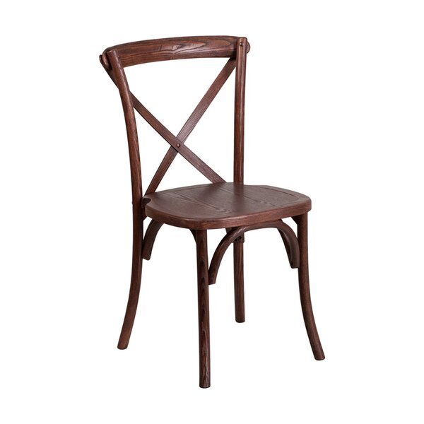 Mortola Solid Wood Dining Chair by Gracie Oaks