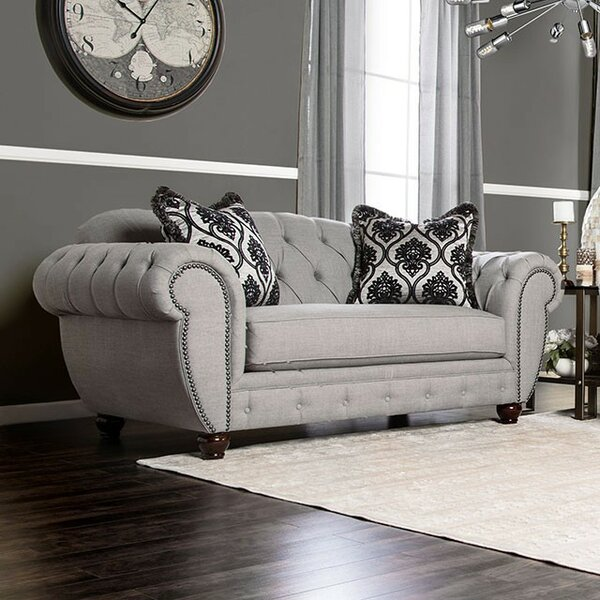 Nestor Chesterfield Sofa by Astoria Grand