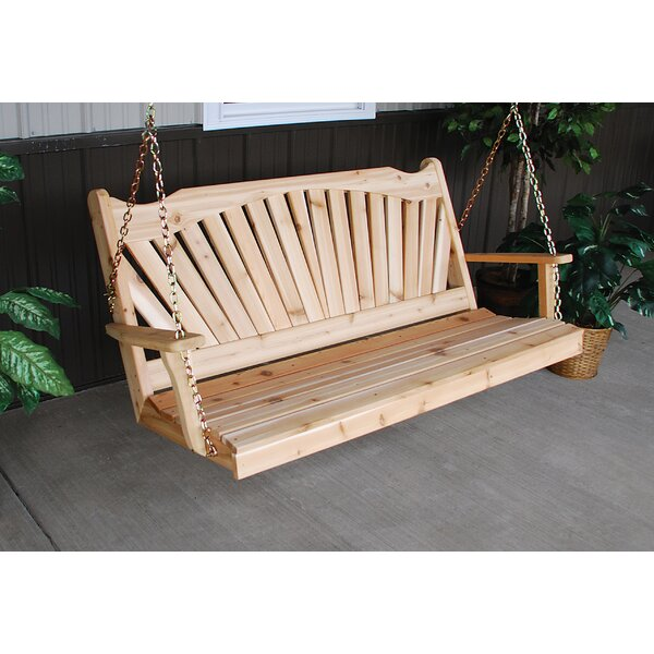 Loomis Porch Swing by August Grove August Grove
