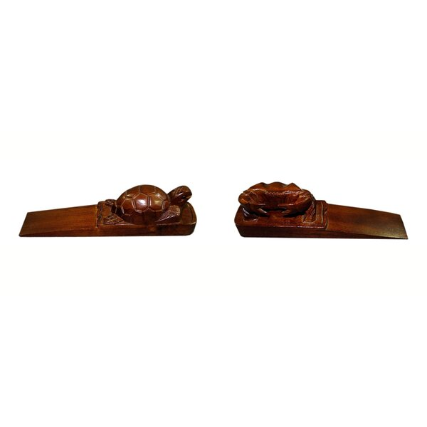 Wood Floor Stop (Set of 2) by D-Art Collection