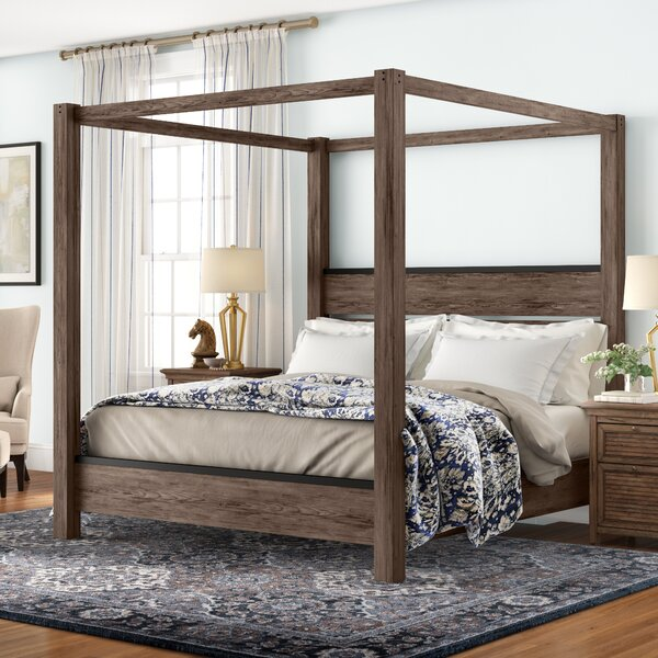 Bartow Canopy Bed by Three Posts