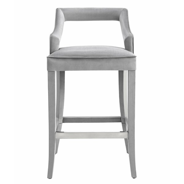 Amabilia 30.7 Bar Stool by Everly Quinn