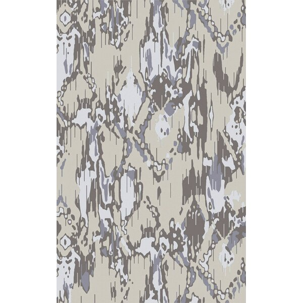 Harbor View Navy/Light Gray Area Rug by Ivy Bronx