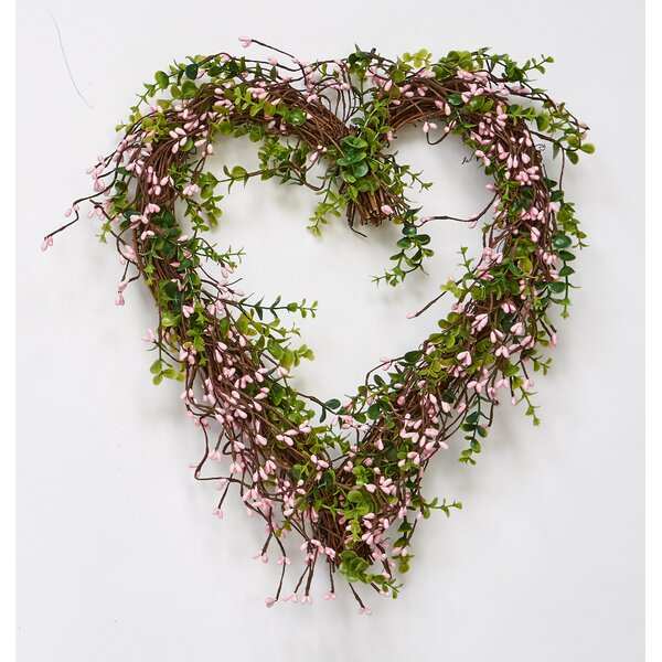 17 Berry Natural Twig Wreath By Worth Imports.