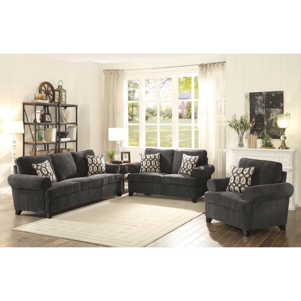 Jacquez Sleeper Configurable Living Room Set by Alcott Hill