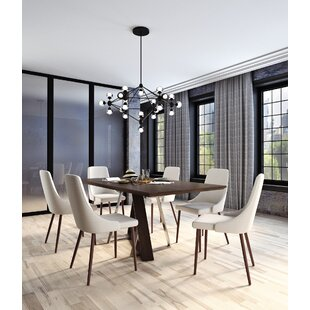Contemporary Kitchen Tables And Chairs Modern contemporary dining room sets allmodern bruck contemporary 7 piece dining set workwithnaturefo