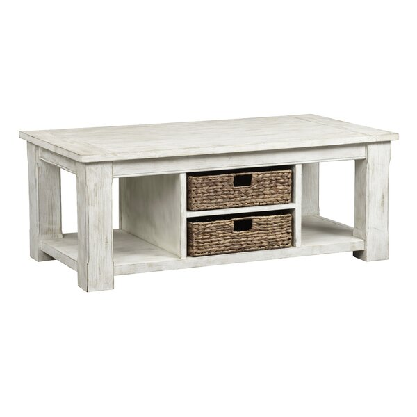 Mcmaster Coffee Table with Storage by Highland Dunes Highland Dunes