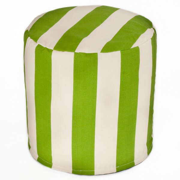 Merrill Indoor/Outdoor Cylinder Pouf by Beachcrest Home