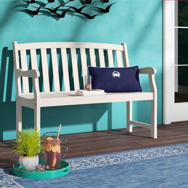 Aranmore Wooden Garden Bench by Beachcrest Home Beachcrest Home