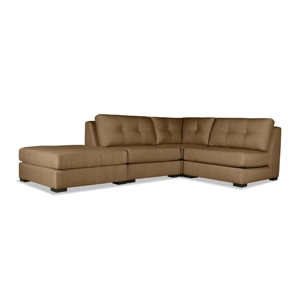 Glaude Plush Deep Sectional by Brayden Studio