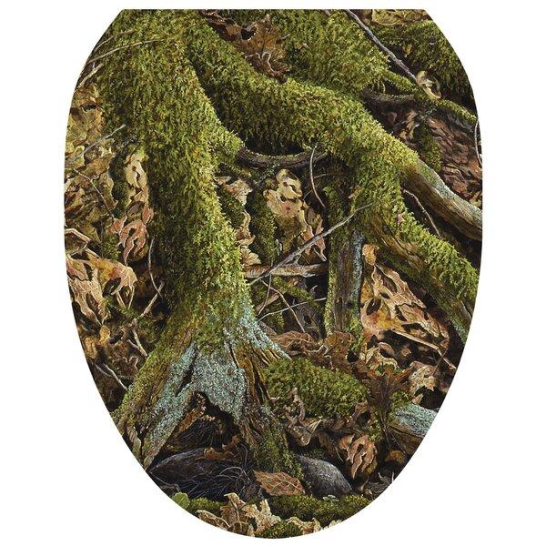 Leafy Oak Toilet Seat Decal by Toilet Tattoos