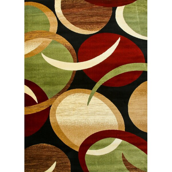 Abstract Black Area Rug by Persian-rugs