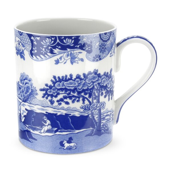 Blue Italian 16 oz. Mug (Set of 4) by Spode