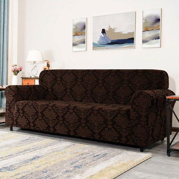Elegant  Sofa Slipcover (4 Seats) By Winston Porter