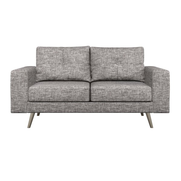 In Style Binns Cross Weave Loveseat by Corrigan Studio by Corrigan Studio