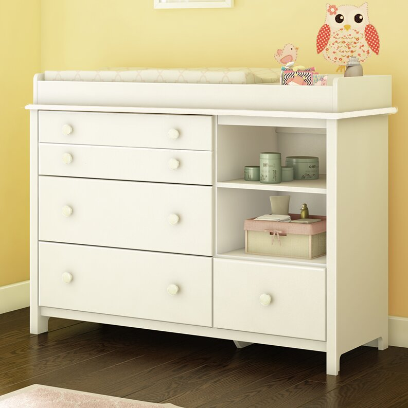 Little Smileys 4 Drawer Changing Dresser