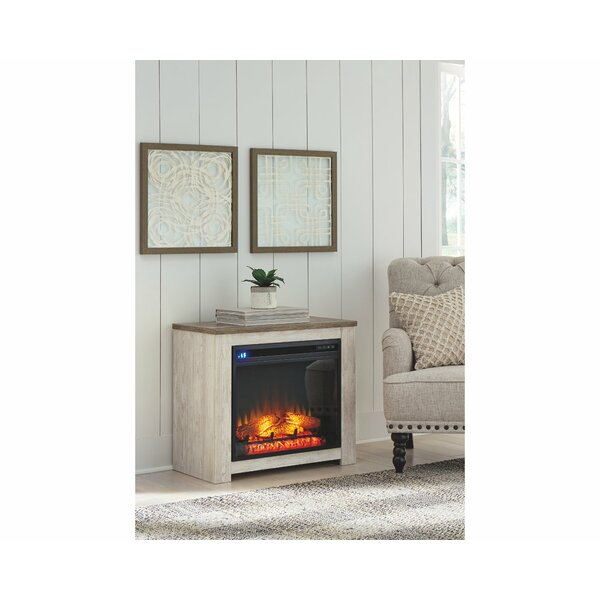 Willowton Fireplace Surround With Insert By Signature Design By Ashley