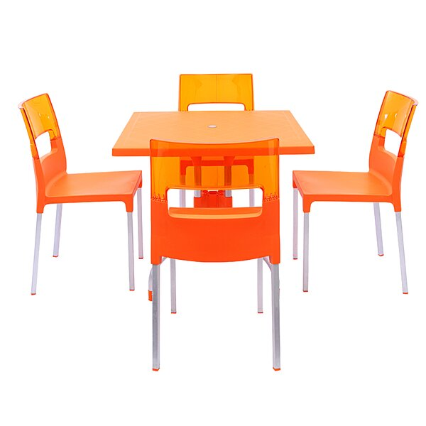 Slezak 4 Piece Dining Set by Brayden Studio