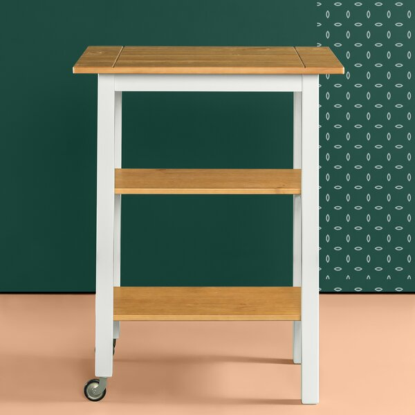Stetler Kitchen Cart by August Grove