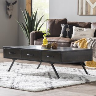 Bridges Mango Wood Coffee Table Union Rustic