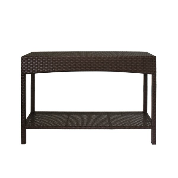 Levins Rattan Console Table by Latitude Run
