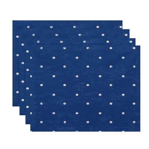 Pembrook Dot Geometric Placemat (Set of 4) by Bay Isle Home