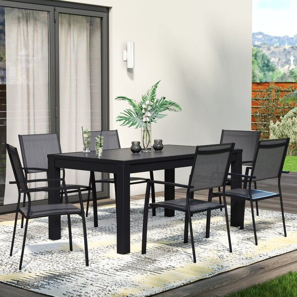 Balducci 7 Piece Dining Set by Wade Logan