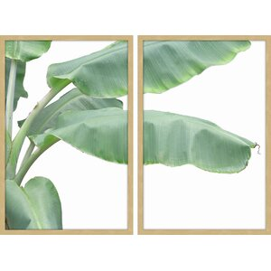 'Palacios Diptych' Framed Painting Print by Marmont Hill