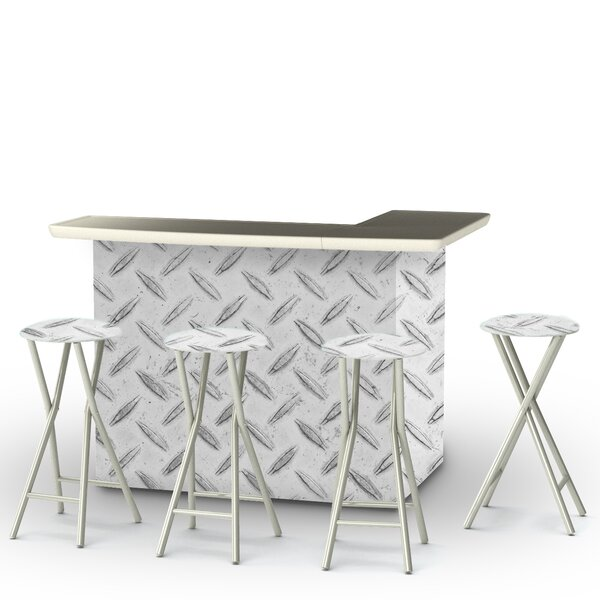 Urban 7 Piece Bar Set by Best of Times Best of Times