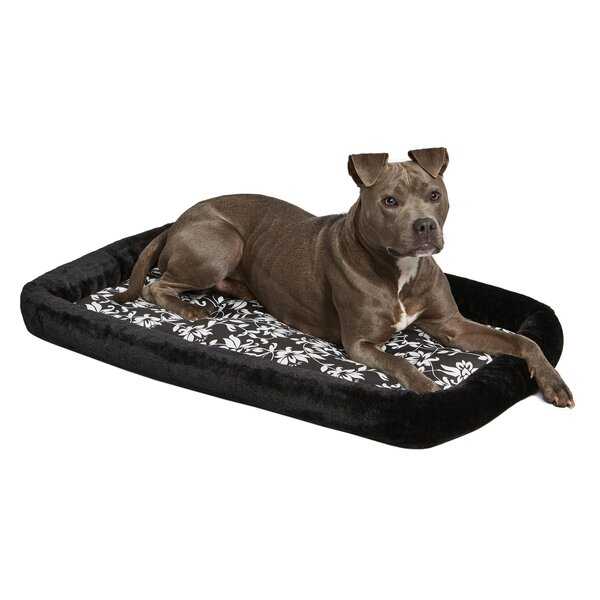 Labrador Quiet Time Couture Sofia Crate Pad Bolster by Tucker Murphy Pet