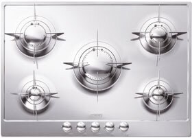 Piano 28 Gas Cooktop with 5 Burners by SMEG