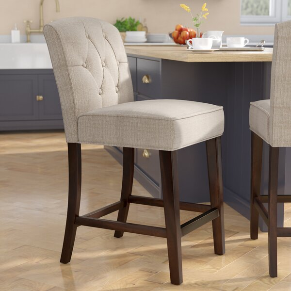 Cayman 26 Bar Stool by Three Posts