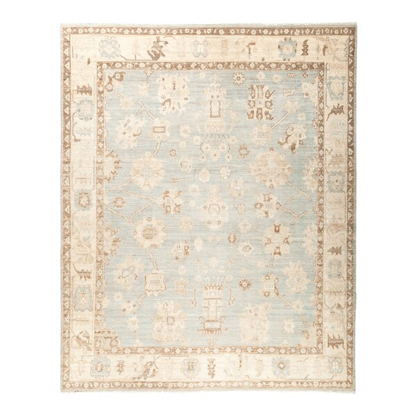 One-of-a-Kind Anatollia Hand-Knotted Blue Area Rug by Darya Rugs